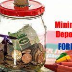 Broker forex dengan minimal deposit forex